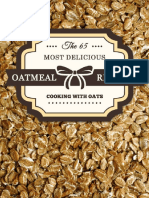 Oatmeal Recipes_ the 65 Most de - Unknown