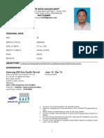 Hazeem Resume 2016