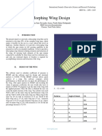 Morphing Wing Design