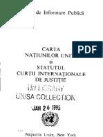 Carta Onu - Romanian