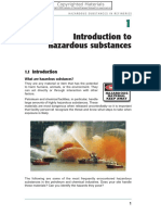 Hazardous substances in refineries