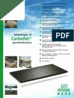 Brochure - Advantages of CARBOFOL Geomembranes