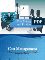 Cost Management Amd Productivity