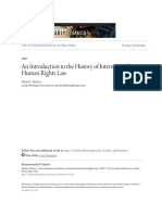 An Introduction to the History of International Human Rights Law