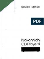 Nakamichi CD Player 4 Sm