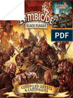 Zombicide Black Plague Compiled Quests & Campaigns