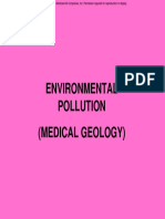 Environmental Pollution (Medical Geology)