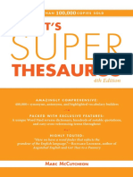 Roget's Super Thesaurus - 4E (2010)