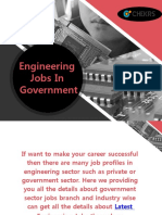 Engineering Jobs in Government