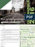 Real Estate Transactions - Cluj-Napoca, 2016