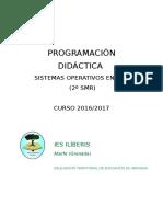 Programación Didáctica Curso 2016-17 Sor