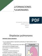 MALFORMACIONES PULMONARES