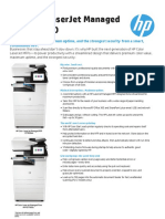 HP Color LaserJet Managed MFP E77830 Data Sheet