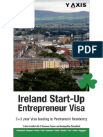 Y-Axis Registered Migration Agent Melbourne-(Ireland Start Up Entrepreneur Visa)