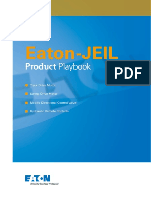 Eaton-JEIL Product Playbook | Loader (Equipment