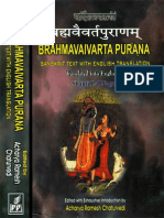 Brahmavaivarta Purana 1 (Sanskrit text with English translation ).pdf