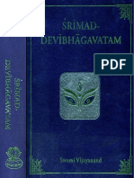 Devi Bhagavata Purana 1 (Sanskrit Text With English Translation)