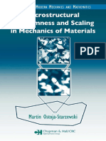Martin Starzewski Microstructural Randomness