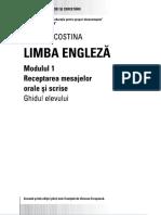 Carmen Costima - Limba Engleza - Modul 1