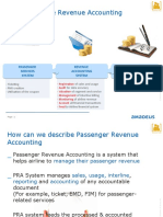 Amadeus Passenger Revenue Accounting System Overview