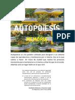098 Autopoesis Memoria