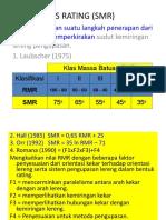 7 Slope Mass Rating (Smr)