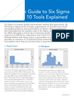 Quick Guide to Six Sigma Statistics