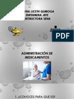 Administración de Medicamentos Mayra