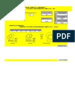 Planilha para dimensionamento de parafusos para flanges e máquinas