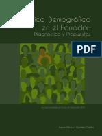 Demografía INEC Censo 2010