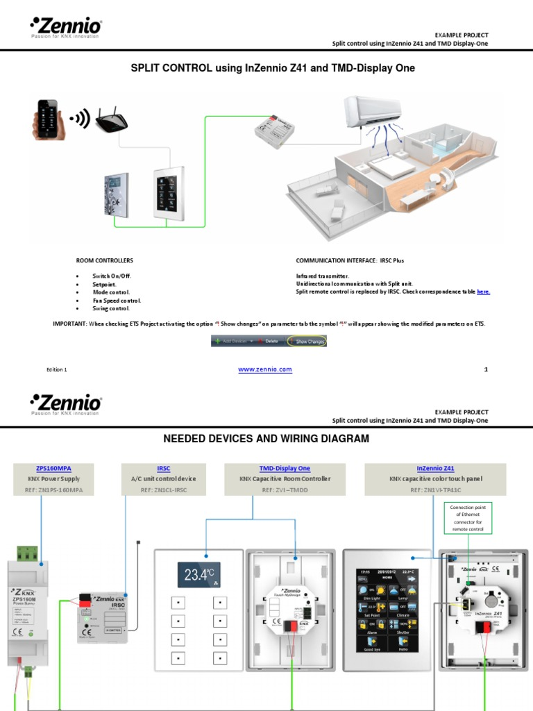 Irsc Tmdd Z41 En Ed1 Touchscreen Air Conditioning Wiring Diagram Symbols For Display
