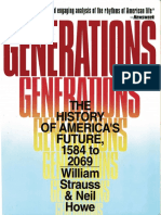 Generations the History of America's Future, 1584 to 2069 by William Strauss & Neil Howe