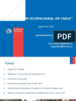 La Salud Ocupacional en Chile