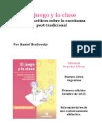 El juego y la clase. ensayo. Brailovsky.pdf
