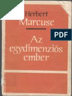 Herbert Marcuse - Az egydimenziós ember.pdf