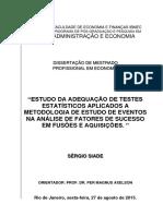 Dissertacao Mestrado Economia IBMEC - Sergio Siade - Dt20150730