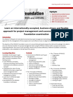 BBPL Brochure - PRINCE2 Foundation