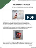 Alat Pendeteksi Kabel Dalam Dinding AMD012 - Wires Detector