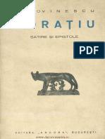 Horatiu Satire si epistole.pdf