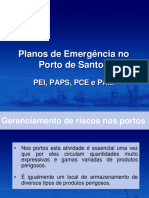 Planos Emergencia Porto Santos