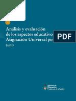 Analisis y Evaluacion de Los Aspectos Educativos de La Auh