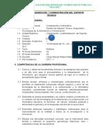 Silabo Organizacion y Administracion de Centros de Computo