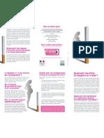 Brochure Inpes Tabac Grossesse