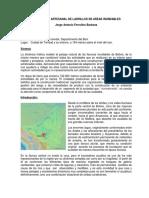 Produccion Artesanal de Ladrillos en Areas Inundables, Ferrufino