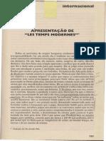 Sartre - Apresentacao -de - Les Temps Modernes.pdf