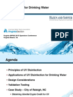 2015 Plant Ops UV Disinfection