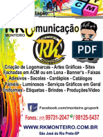 Catálogo RKMONTEIRO  Comunicação