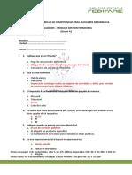 Evaluación Gestion Financiera Administradores Junior Opcion A