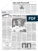 Remembering the Winsted Journal