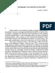BURITY, J. Cultura e Identidade Nas Políticas Sociais